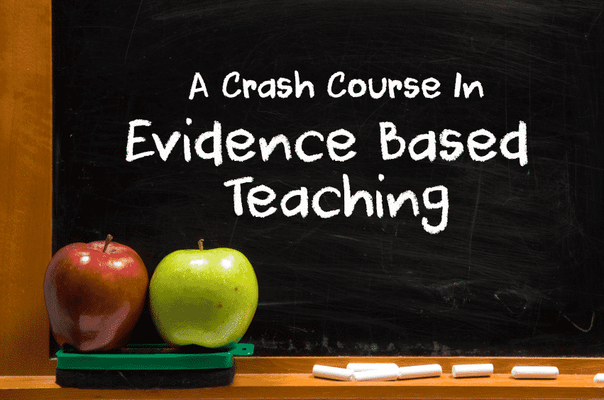 crash course in evidence based teaching feature image